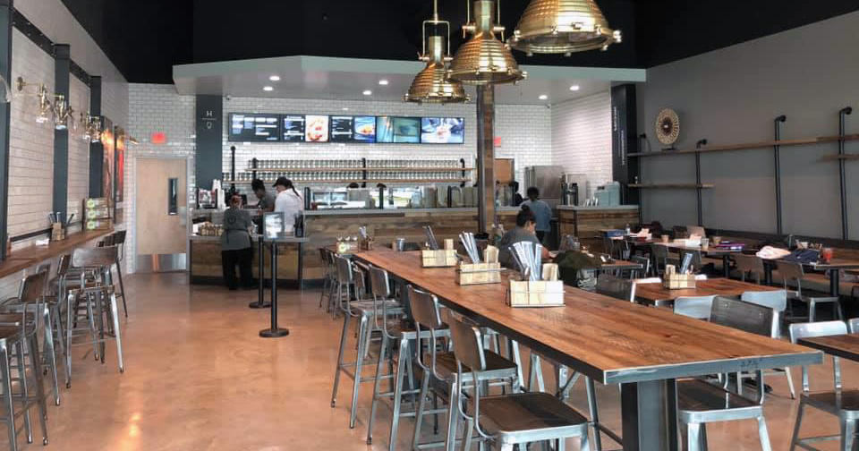 Inside our Hiccups & Churroholic location in Frisco, Texas.